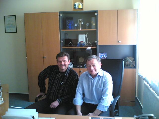 Beszélgetés a csehországi ATMOS kazán gyártó tulajdonosával